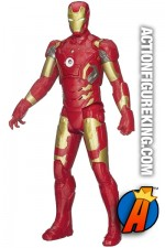 Sixth-scale Titan Hero Tech Iron Man figure.