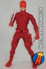Fully articulated custom sixth-scale Daredevil action figure.