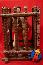 Mego Planet of the Apes Jail playset with Peter Burke in captivity.