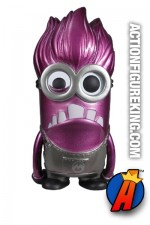Funko Pop! Movies Despicable Me 2 variant Metallic Evil Minion vinyl bobblehead figure.