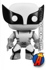 Funko Pop! Marvel X-Men Variant B&W WOLVERINE Bobblead Figure.
