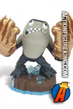 Swap-Force Knockout Terrafin figure from Skylanders and Activision.