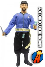 MEGO STAR TREK MIRROR UNIVERSE MR. SPOCK 8-INCH ACTION FIGURE.