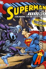 Superman Jumbo Coloring and Activity Book from Bendon.