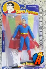 Six-inch scale Super Friends Superman action figure from DC Direct.