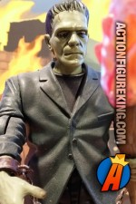 Sideshow Collectibles 8-inch scale Frankenstein action figure from their Universal Studios Monsters line.