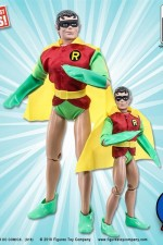 DC COMICS TEEN TITANS SIXTH-SCALE ROBIN MEGO STYLE ACTION FIGURE circa 2018