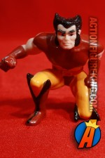 Wolverine PVC figure appears in his classic brown and orange uniform.