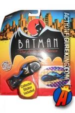 1:64th scale Batman Animated Die-Cast Metal Batcycle.