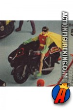 Mego Batman Batcycle vehicle for their 8-inch action figures.