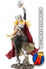 Marvel Kotobukiya FEMALE THOR GIRL Bishoujo Statue.
