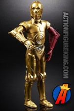 STAR WARS The Force Awakens BLACK SERIES 6-Inch Scale C-3PO Figure with Red Arm.