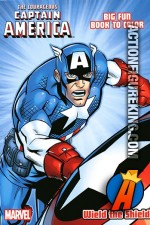 Captain America Wield the Shield coloring book from Dalmatian Press.