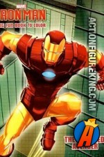 Iron Man - The Armored Avenger coloring book from Dalmatian Press.
