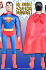 DC Comics Mego Retro-Syle Loose 18-Inch SUPERMAN Action Figure from Figures Toy Co.