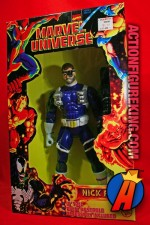 Marvel Universe articulated 10-inch Nick Fury action figure from Toybiz.