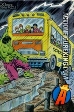 The Rainbow Works 100-piece Hulk jigsaw puzzle.