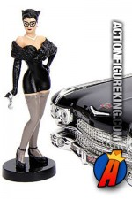 JADA TOYS DC BOMBSHELLS 1959 DIE-CAST METAL CADILLAC and CATWOMAN Figure