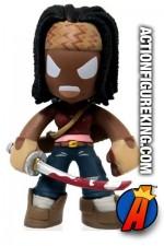 Funko The Walking Dead Mystery Minis Michonne bobblehead figure.