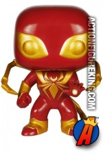 Funko Pop! Marvel Spider-Man IRON SPIDER Figure Number 107.