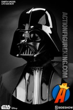 Star Wars Limited Edition Edition life-size Darth Vader Bust from Sideshow Collectibles.