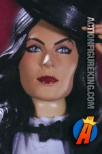 Beautiful 13-Inch DC Direct Zatanna action-figure with authentic fabric oufit.
