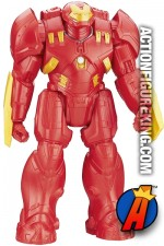 Hasbro Titan Hero Series 12-inch scale Iron Man HULKBUSTER figure.