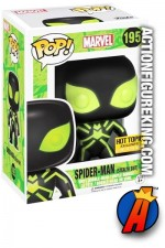 Funko Pop! Marvel STEALTH SUIT SPIDER-MAN Figure Number 195.