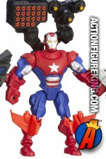 Fully articulated 6-inch Marvel Super Hero Mashers Iron Patriot action figure from Hasbro.