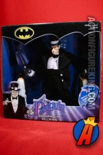 A packaged sample of this Hasbro 9-inch Gotham City Villains Penguin figure.