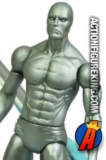 Fully articulated Marvel Select 7-inch Silver Surfer action figure from Diamond Select.