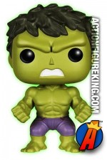 Funko Pop! Marvel Avengers 2 Variant Gamma Glow HULK Figure.