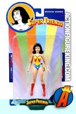 Super Friends Wonder Woman action figure from DC Direct.