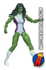 Marvel Universe 3.75 inch 2012 Series Two She-Hulk action figure from Hasbro.