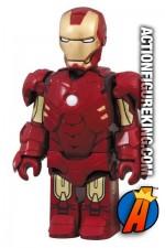 Minature Medicom Kubrick Iron Man 2 Mark IV action figure.