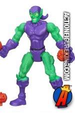 Hasbro presents this 6-inch Green Goblin Marvel Super Hero Mashers action figure with interchangeable parts.