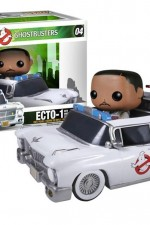 Funko Pop! Rides presents Ghostbusters Winston with Ecto 1.