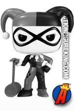 Funko Pop! Variant Black and White Harley Quinn figure number 45.