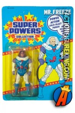 Vintage Kenner DC Comics Super Powers Collection Mr. Freeze action figure.