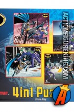 Batman 4in1 Series 1 jigsaw puzzles from Funskool.