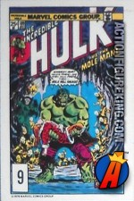 9 of 24 from the 1978 Drake's Cakes Hulk comics cover series.
