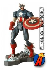 Marvel Select Zombie Colonel America figure from Diamond.