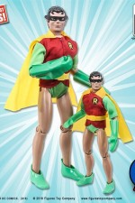 DC COMICS SIXTH-SCALE ROBIN VARIANT MEGO ACTION FIGURE with Cloth uniform and Removable Mask