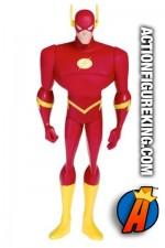 Justice League animated series Flash roto figure.