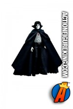 13 inch DC Direct fully articulated Sandman action figure with authentic fabric outfit.