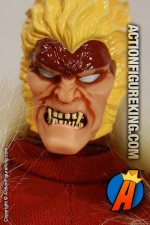 Marvel Famous Cover Series 8 inch Sabretooth action figure with removable fabric outfit from Toybiz.