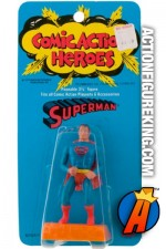 Mego Comic Action Heroes Superman figure.