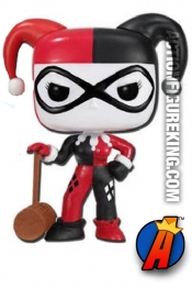 Funko Pop! Heroes Harley Quinn with Mallet figure from DC Comics.