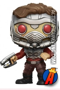 Funko Pop! Marvel GOTG Vol. 2 STAR-LORD Toys R Us Exclusive Figure.