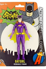 BATMAN Classic TV Series Bendable BATGIRL figure.